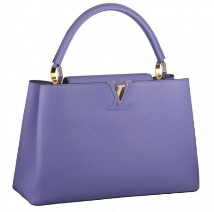 Handbag lilla Louis Vuitton