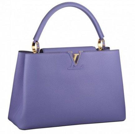 Handbag lilla Louis Vuitton