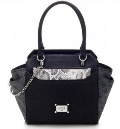 Handbag logata Guess