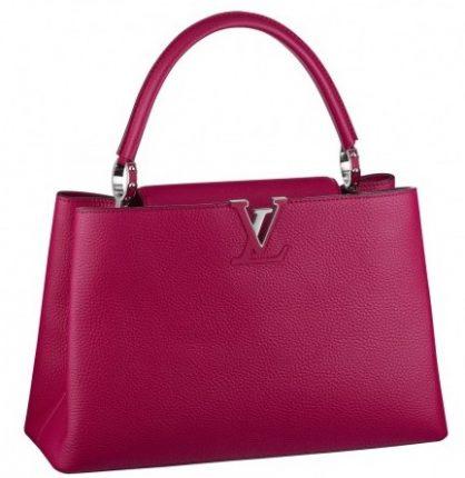 Handbag magenta Louis Vuitton