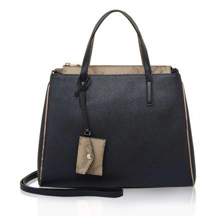 Handbag nera Alviero Martini Prima Classe autunno inverno 2017