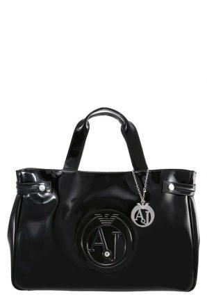 Handbag nera Armani Jeans autunno inverno 2017