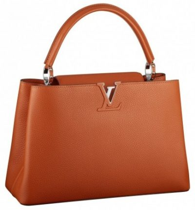 Handbag orange Louis Vuitton