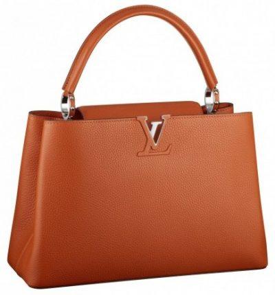 Handbag orange Louis Vuitton