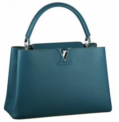 Handbag petrolio Louis Vuitton
