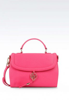 Handbag rosa candy Armani Jeans autunno inverno 2017