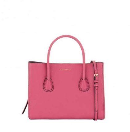 Handbag rosa Coccinelle autunno inverno 2017