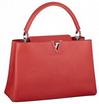 Handbag rossa Louis Vuitton