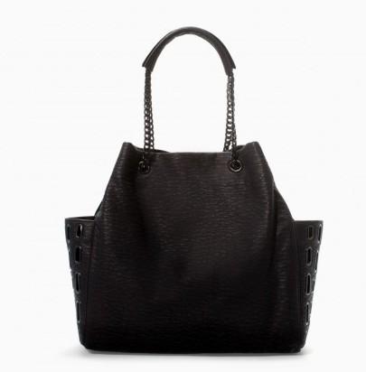Handbag strutturata Zara borse autunno inverno 2015