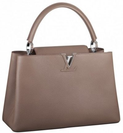 Handbag taupe Louis Vuitton