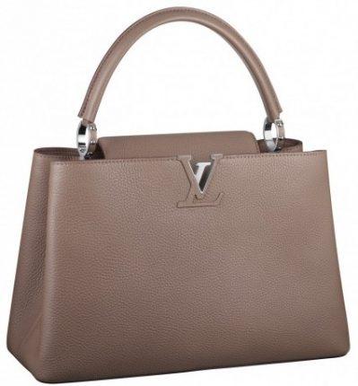 Handbag taupe Louis Vuitton