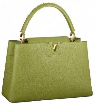 Handbag verde Louis Vuitton