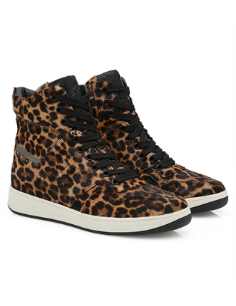 High-Top Sneaker in cavallino animalier Hogan autunno inverno