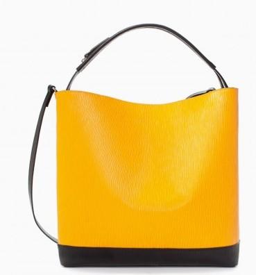 Hobo gialla Zara borse autunno inverno 2015