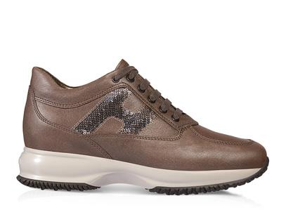 Interactive glitter scarpe Hogan autunno inverno