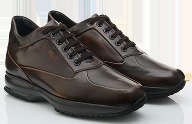 Interactive in pelle scarpe Hogan autunno inverno