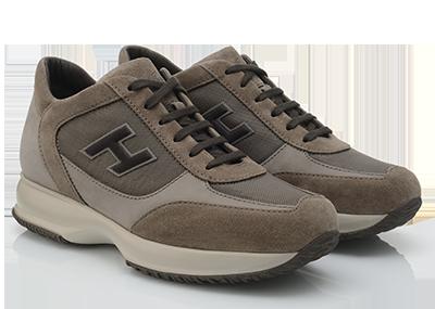 Interactive in suède scarpe Hogan autunno inverno