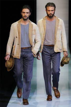 Giorgio Armani abbigliamento primavera estate 2013