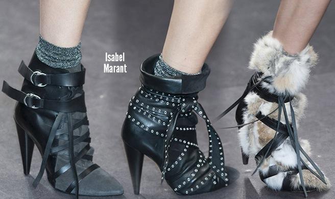 Isabel Marant scarpe catalogo autunno inverno 2014 2015