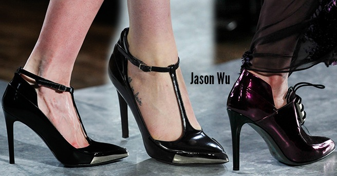 Jason Wu scarpe catalogo autunno inverno 2014 2015
