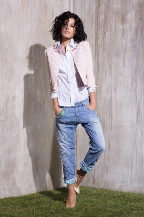 Jeans boyfriend di Rinascimento primavera estate