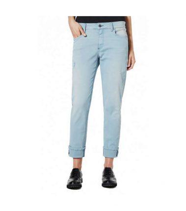Jeans celeste Sisley