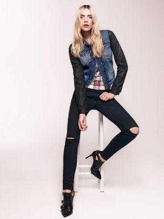 Jeans con strapi Liu Jo autunno inverno 2015