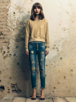 jeans con tope Fornarina autunno inverno 2015