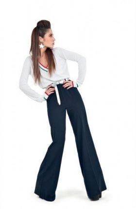 Jeans larghi Denny Rose primavera estate 2014
