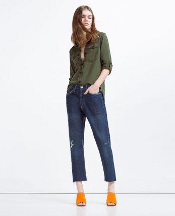 Jeans largo Zara primavera estate