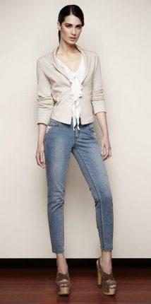 Jeans ricamato Oltre primavera estate 2013