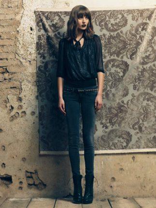Jeans vita bassa Fornarina autunno inverno 2015