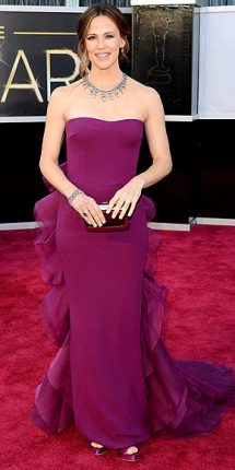 Jennier Garner abito oscar 2013