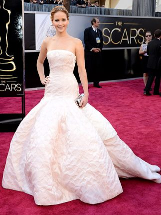Jennifer Lawrence abito oscar 2013