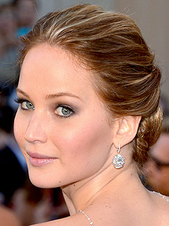 Jennifer Lawrence trucco oscar 2013