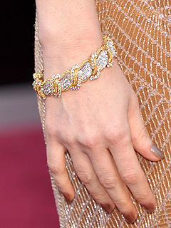 Jessica Chastain gioielli oscar 2013