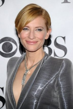 Kate Blanchett con capelli corti
