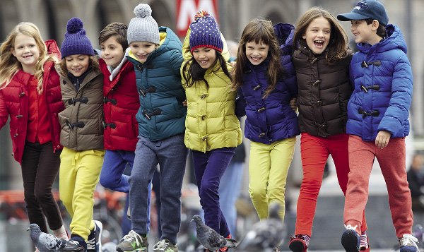 Kids Benetton autunno inverno 2013 2014