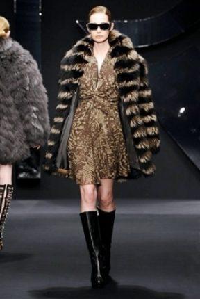 Krizia collezione autunno inverno 2013 2014 pelliccia
