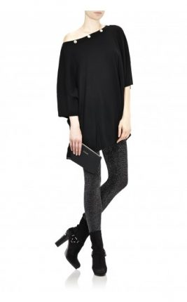 Leggings jersey lurex Liu Jo