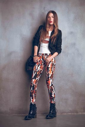 Leggings stampati Denny Rose autunno inverno 2015