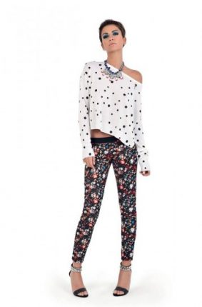 Leggings stampati Denny Rose primavera estate 2014