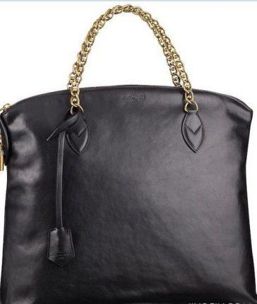 Lockit Louis Vuitton pelle nera