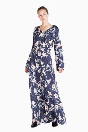 Long dress Twin Set Simona Barbieri autunno inverno 2017
