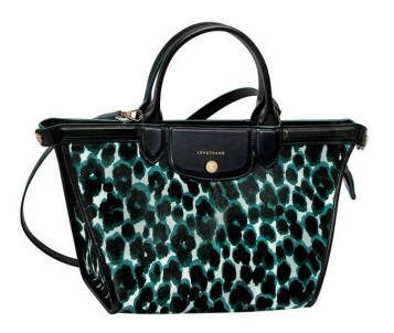 Longchamp borsa shopper denim