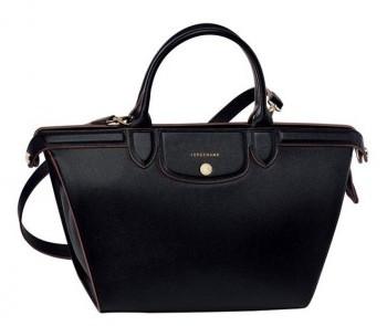 Longchamp borsa shopper nera