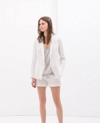 Look bianco Zara autunno inverno 2014 2015