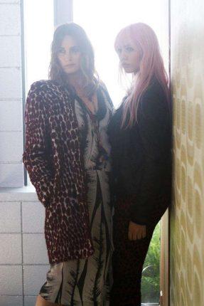 Look Yasmin e Amber Le Bon