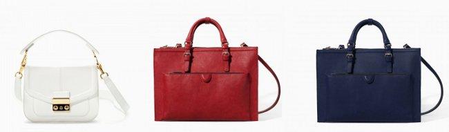 Look Zara borse autunno inverno 2015 catalogo donna