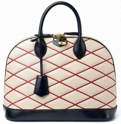 Louis Vuitton borsa Black Losange Alma Bag